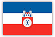 Flagge / Fahne  Stadt Hameln