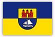 Flagge / Fahne  Stadt Kellinghusen