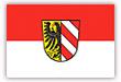 Flagge / Fahne  Stadt Nürnberg