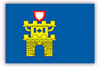 Flagge / Fahne  Stadt Oldenburg