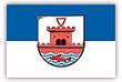 Flagge / Fahne  Stadt Plön