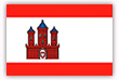 Flagge / Fahne  Stadt Rensburg