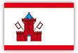 Flagge / Fahne  Stadt Segeberg