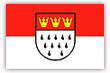 Flagge / Fahne  Stadt K�ln