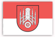 Flagge / Fahne  Stadt Hofgeismar