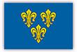 Flagge / Fahne  Stadt Wiesbaden