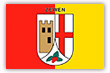 Flagge / Fahne  Stadt Zween