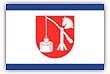 Flagge / Fahne Gemeinde Boernsen