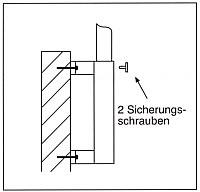 Wandhülse aus Stahl für Masten mit  Ø 90mm, mit Distanz 200mm