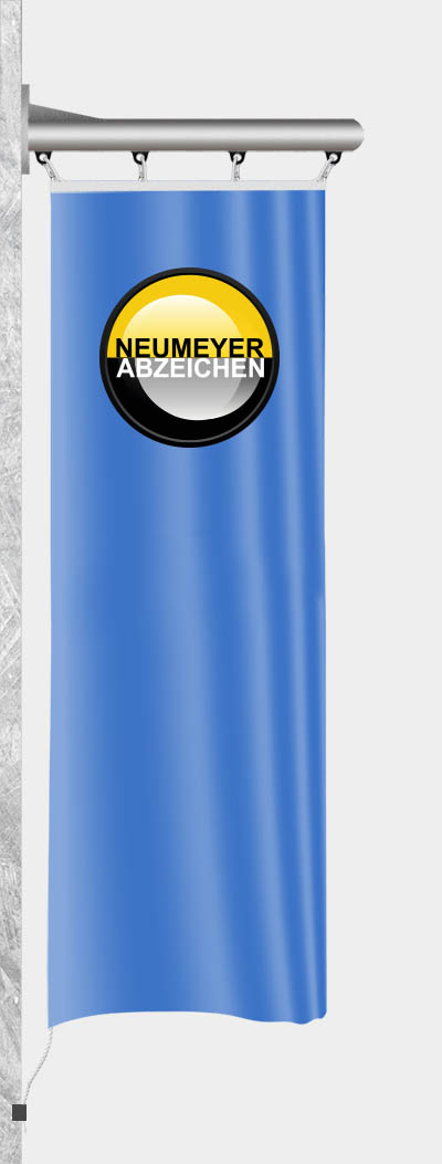 Wandausleger Z75-W aus Edelstahl zur Horizontalmontage, 0,80m, Ø 76mm