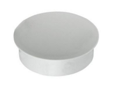 Deckel für Zentrierhülse aus Aluminium f. Mast Ø=135mm - sperrbar