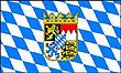 Querformatflagge 150x100 cm Bundesland Bayern
