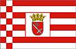 Querformatflagge 150x100 cm Bundesland Bremen