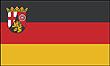Querformatflagge 150x100 cm Bundesland Rheinland-Pfalz