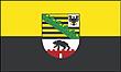 Querformatflagge 150x100 cm Bundesland Sachsen-Anhalt