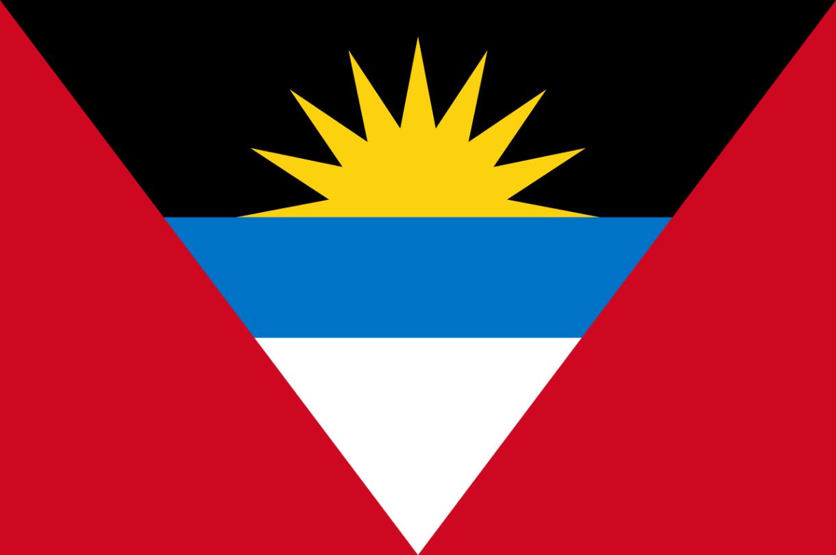 Flagge im Querformat Land Antigua und Babuda 150x100 cm