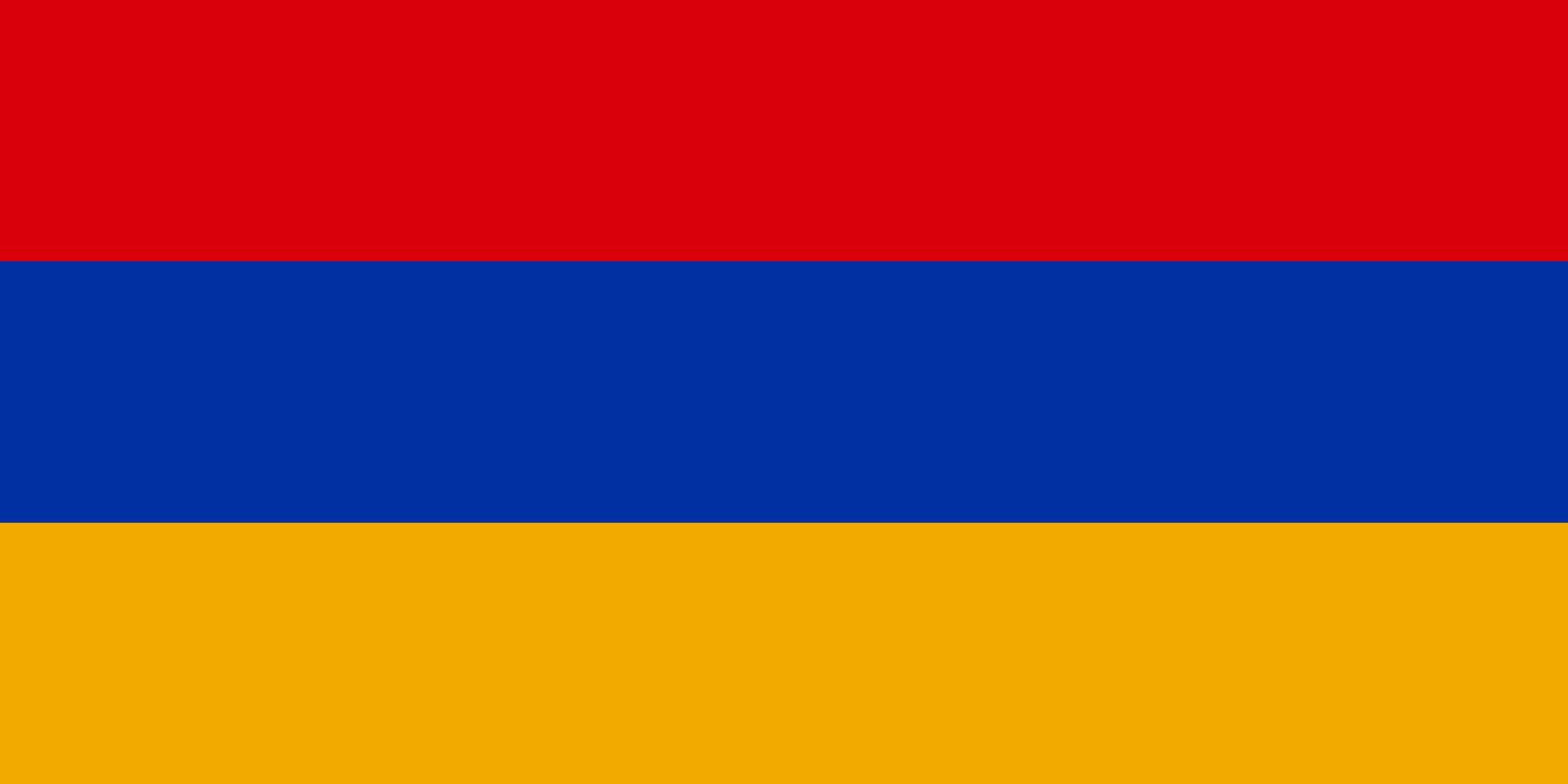 Flagge im Querformat Land Armenien 150x100 cm