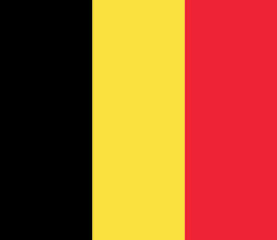 Flagge im Querformat Land Belgien 150x100 cm