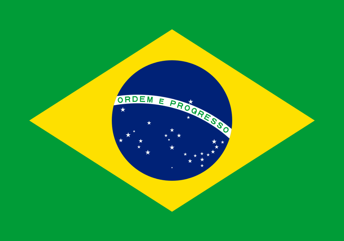 Flagge im Querformat Land Brasilien150x100 cm