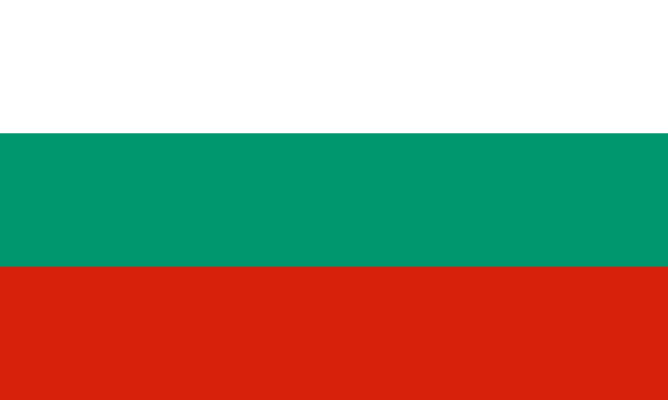 Flagge im Querformat Land Bulgarien150x100 cm