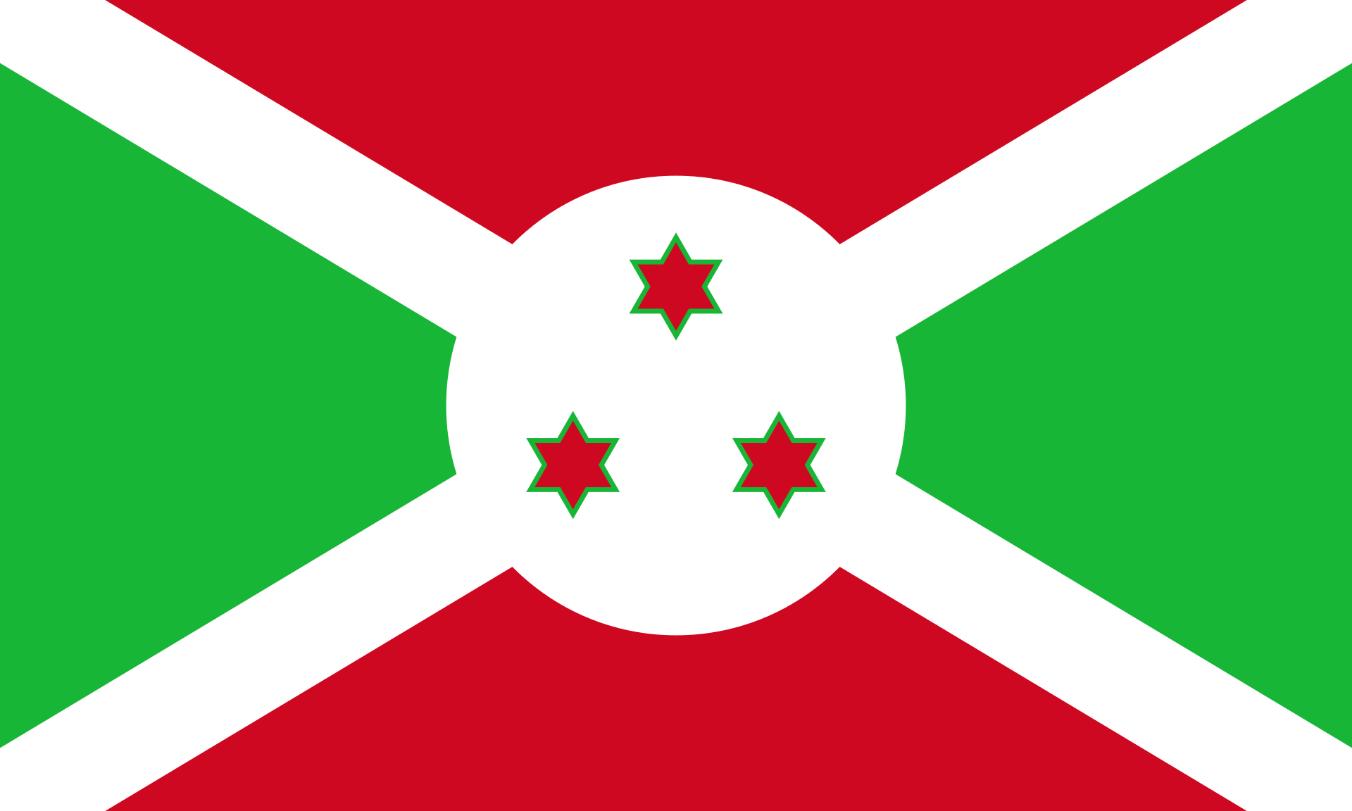 Flagge im Querformat Land Burundi 150x100 cm