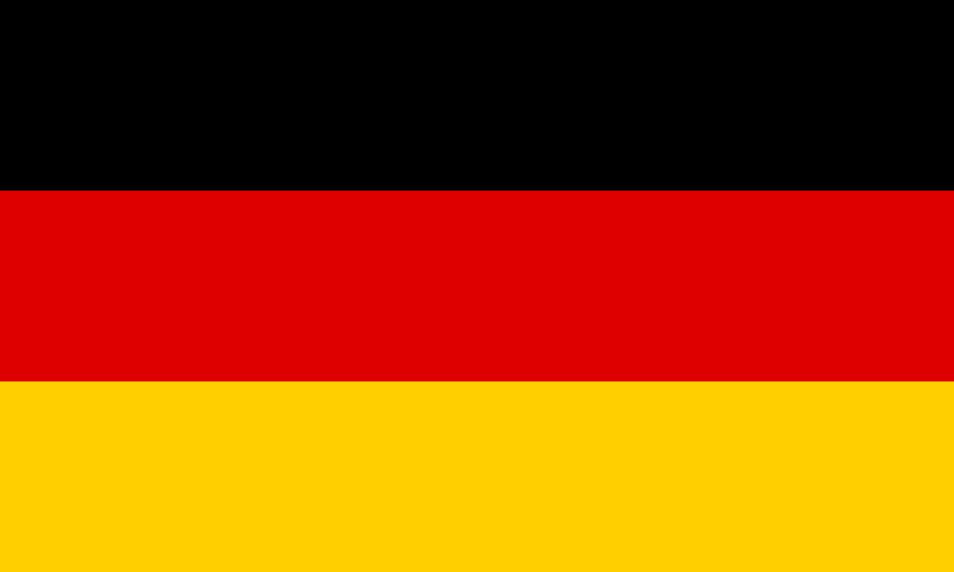 Flagge im Querformat Land Deutschland 150x100 cm