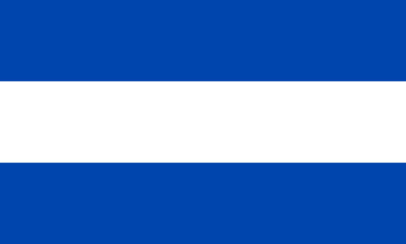 Flagge im Querformat Land El Salvador 150x100 cm
