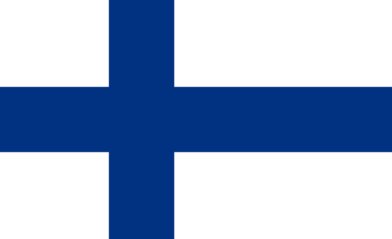 Flagge im Querformat Land Finnland 150x100 cm