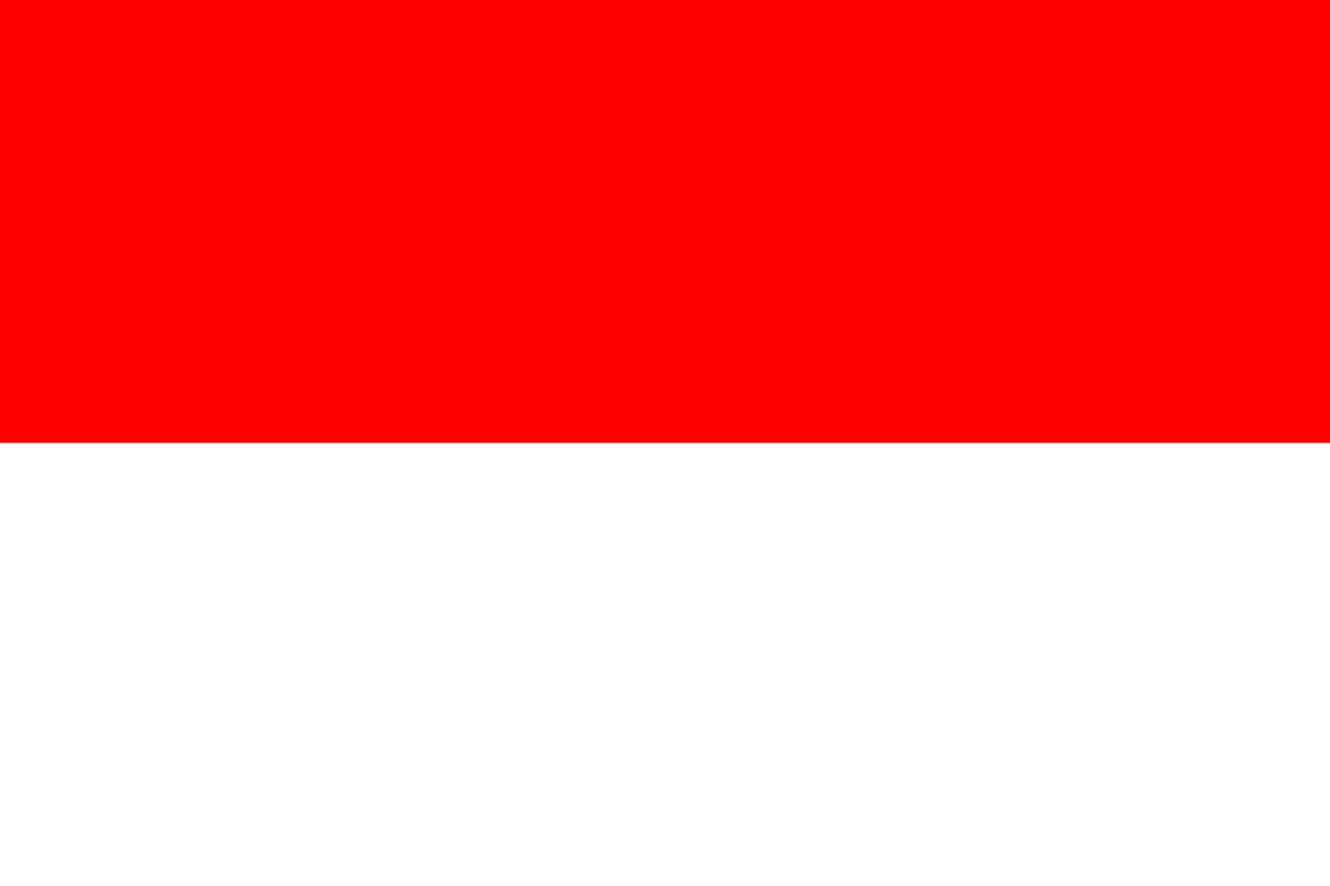 Flagge im Querformat Land Indonesien 150x100 cm