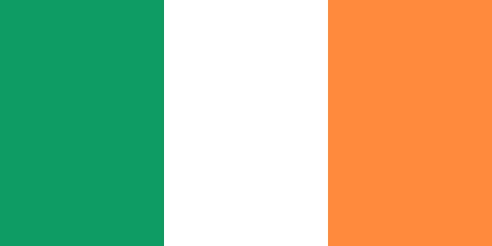 Flagge im Querformat Land Irland150x100 cm