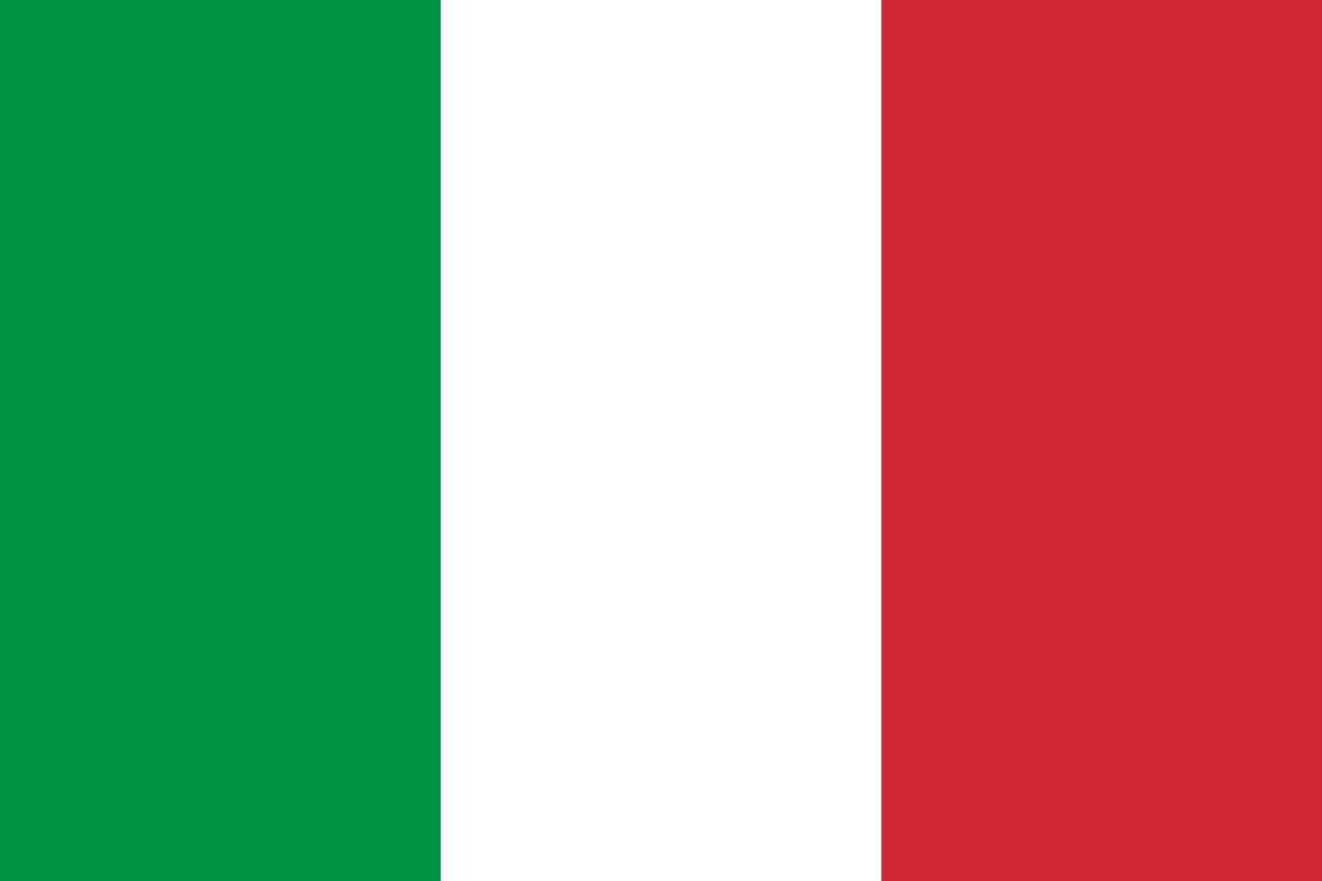 Flagge im Querformat Land Italien 150x100 cm