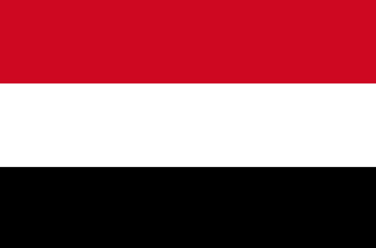 Flagge im Querformat Land Jemen 150x100 cm