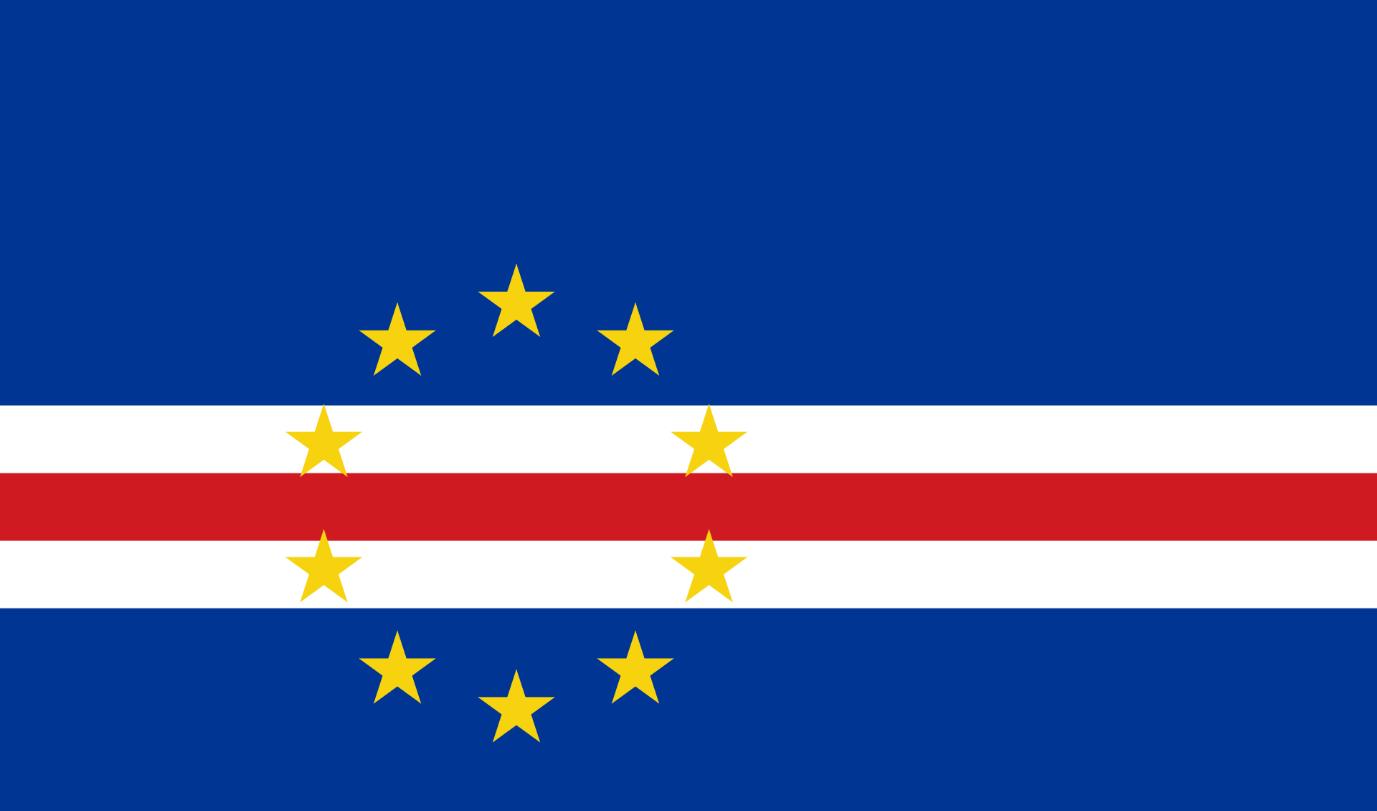 Flagge im Querformat Land Kapverden 150x100 cm