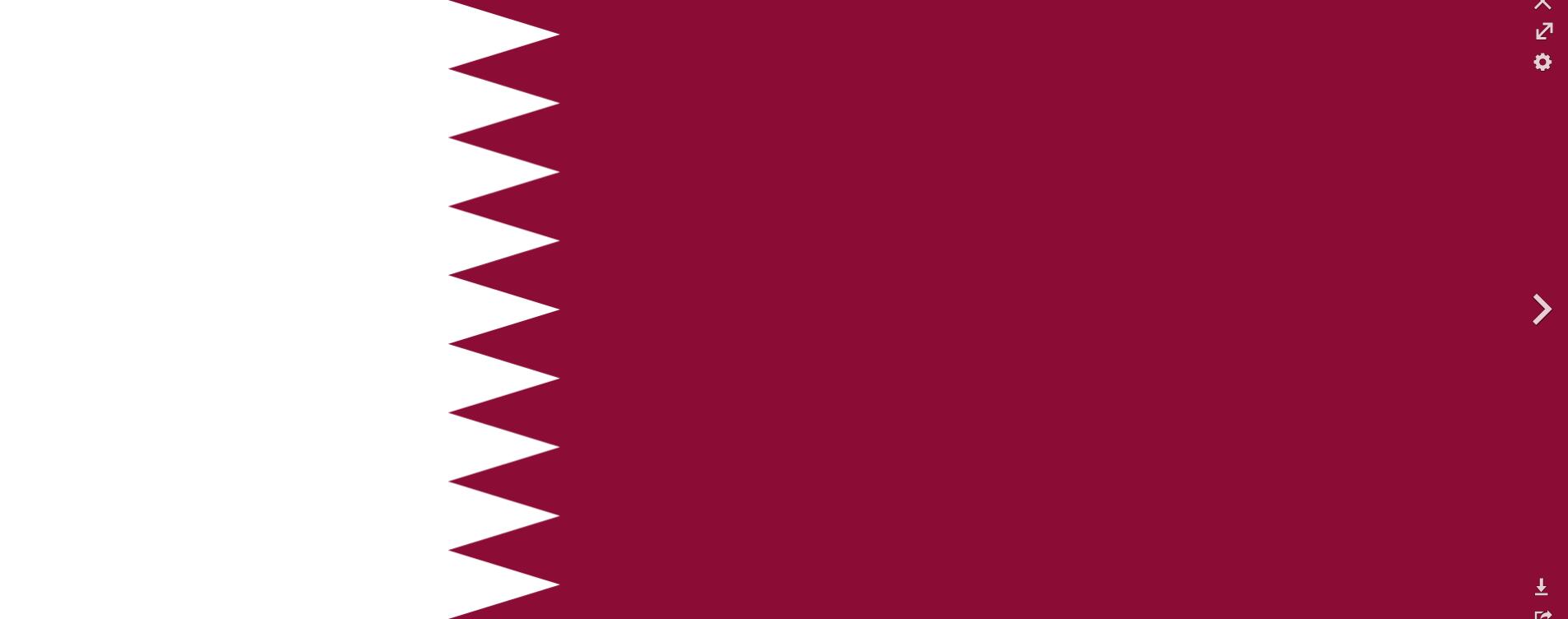 Flagge im Querformat Land Katar 150x100 cm