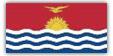 Flagge im Querformat Land Kiribati 150x100 cm