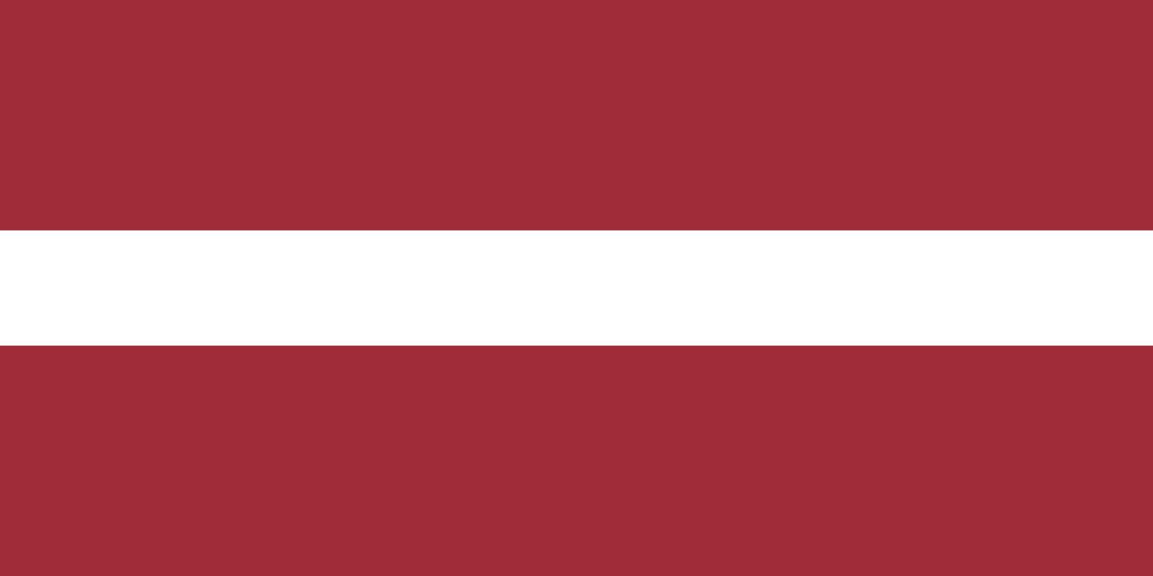 Flagge im Querformat Land Lettland 150x100 cm
