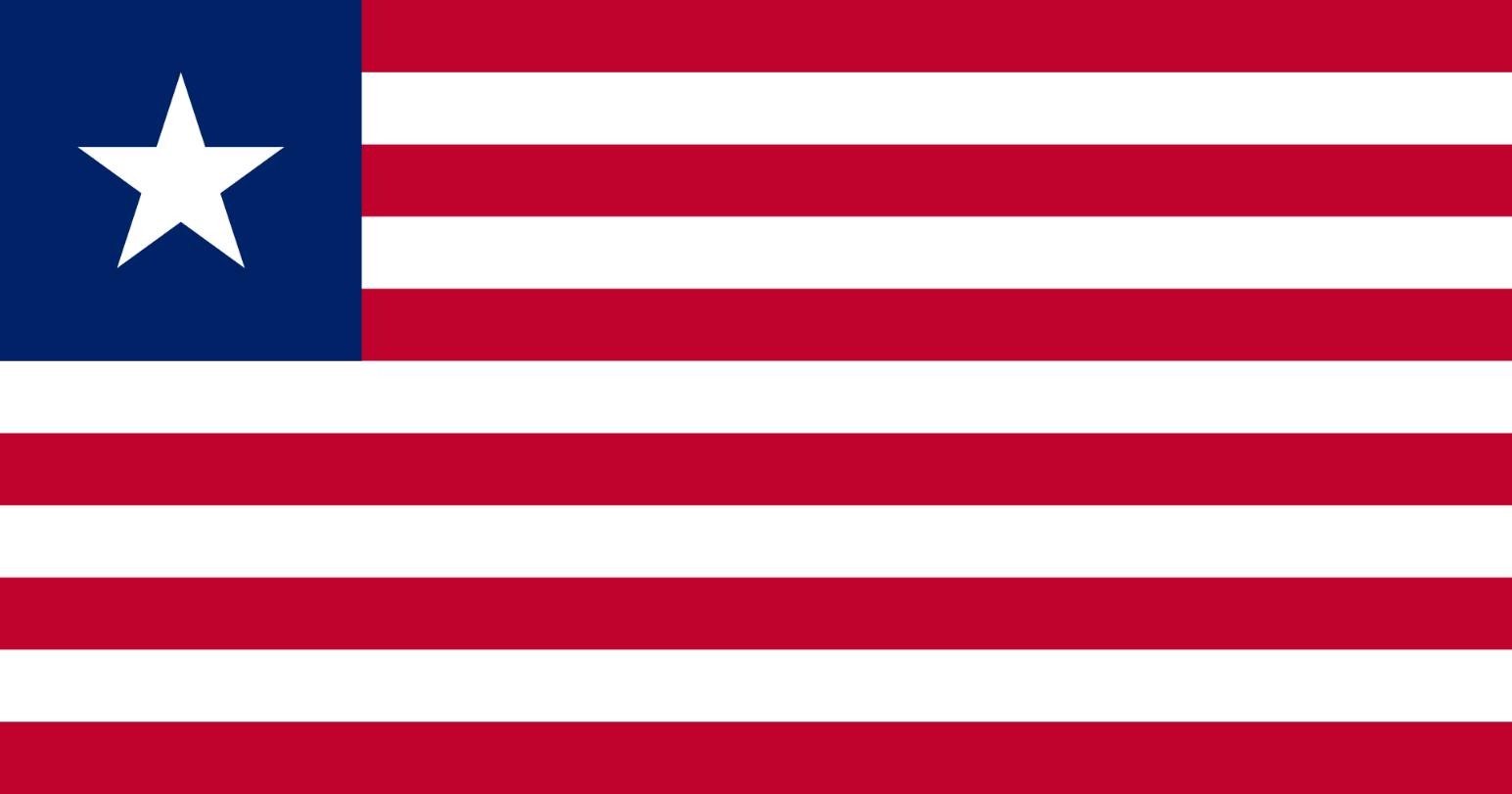 Flagge im Querformat Land Liberia 150x100 cm