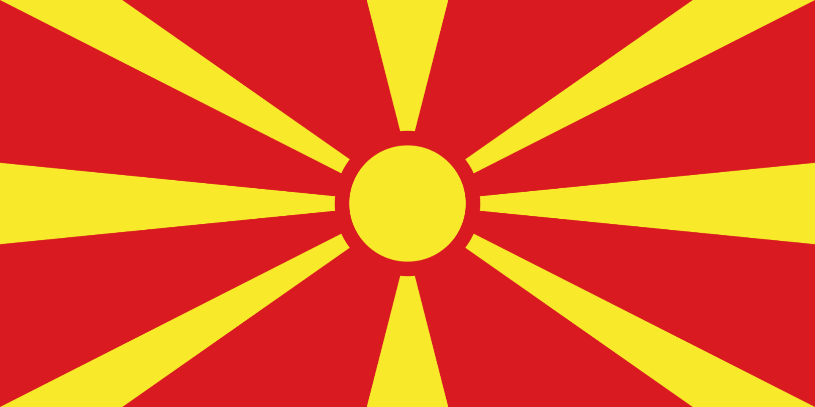 Flagge im  Land Makedonien 150x100 cm