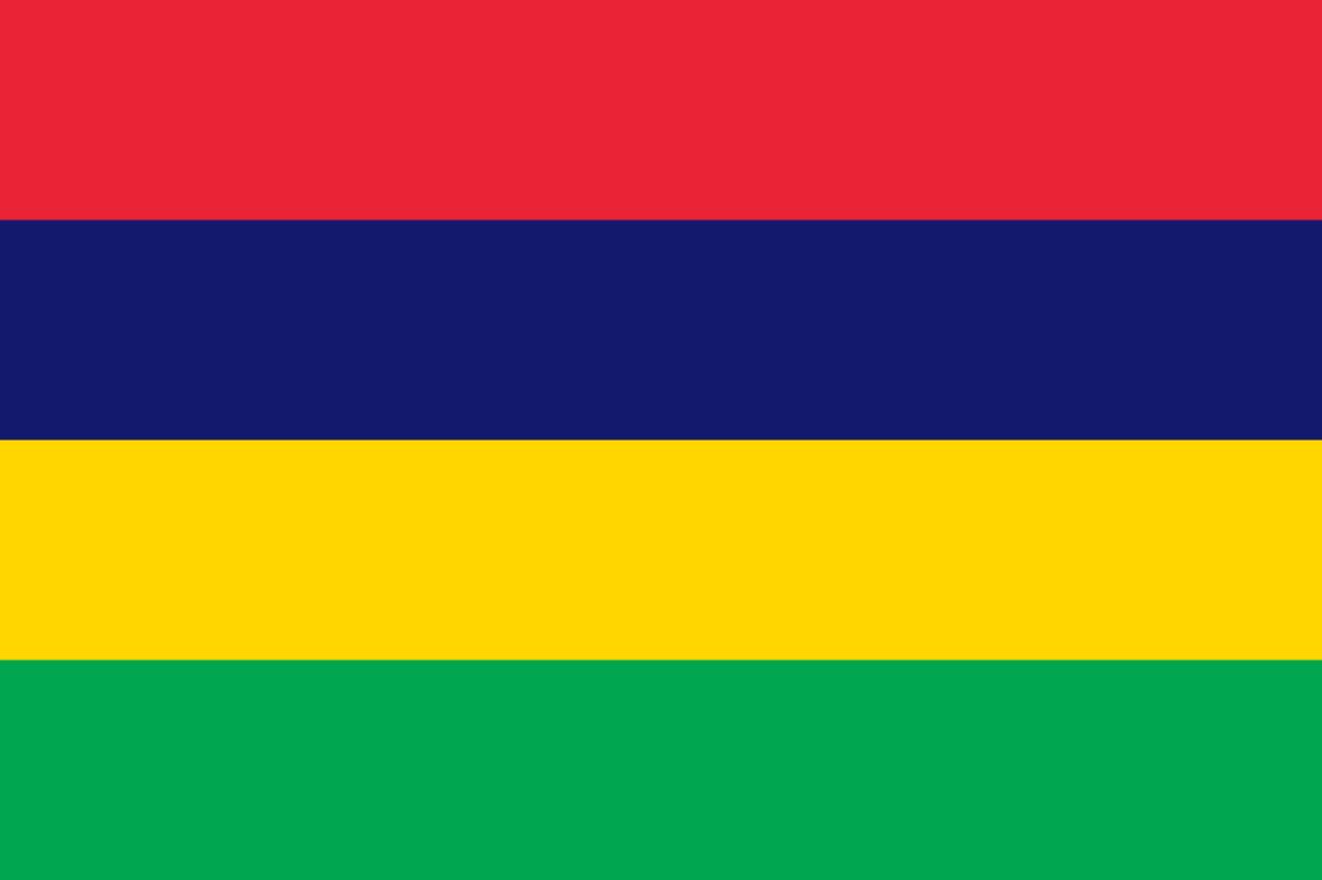 Flagge im Querformat Land Mauitius 150x100 cm