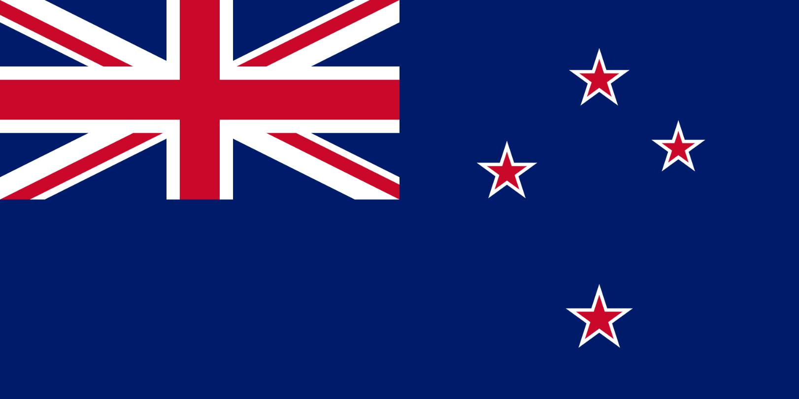 Flagge im Querformat Land Neuseeland 150x100 cm