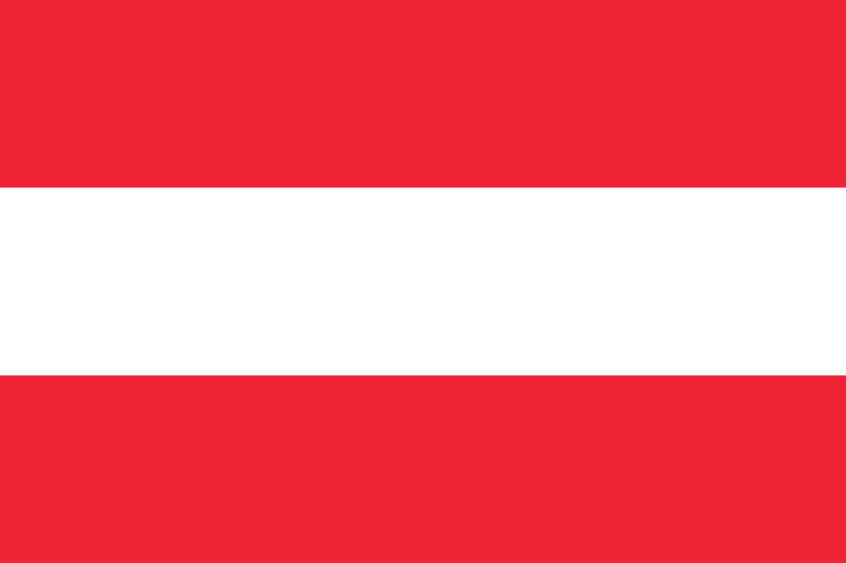 Flagge im Querformat Land Österreich 150x100 cm