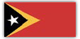 Flagge im Querformat Land Osttimor 150x100 cm