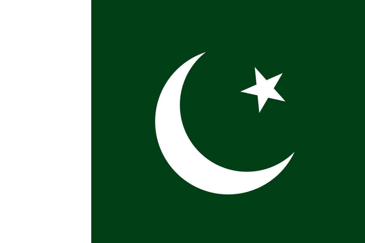 Flagge im Querformat Land Pakistan 150x100 cm