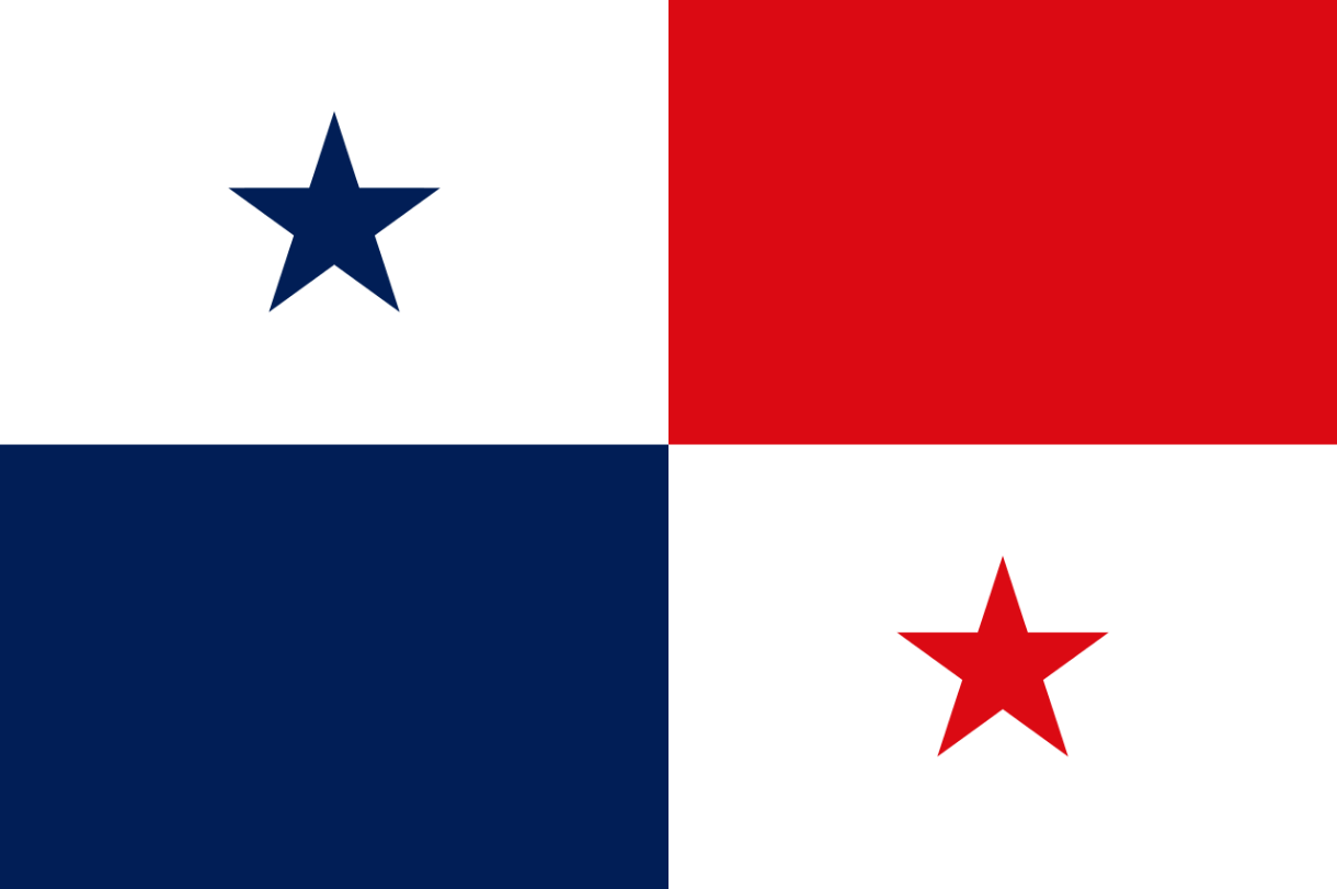 Flagge im Querformat Land Panama 150x100 cm