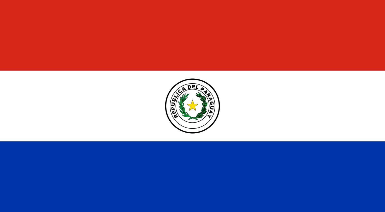 Flagge im Querformat Land Paraguay 150x100 cm