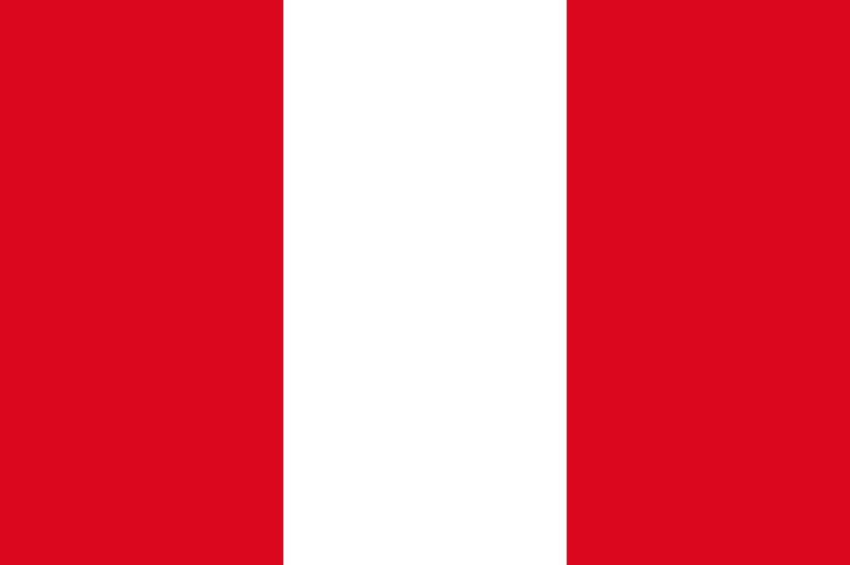 Flagge im Querformat Land Peru 150x100 cm