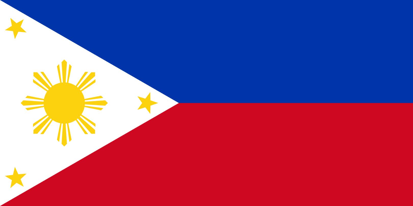 Flagge im Querformat Land Philippinen 150x100 cm