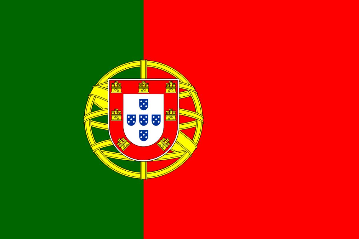 Flagge im Querformat Land Portugal 150x100 cm