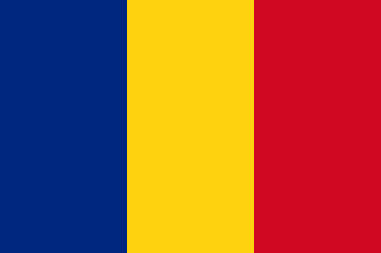 Flagge im Querformat Land Rum�nien 150x100 cm