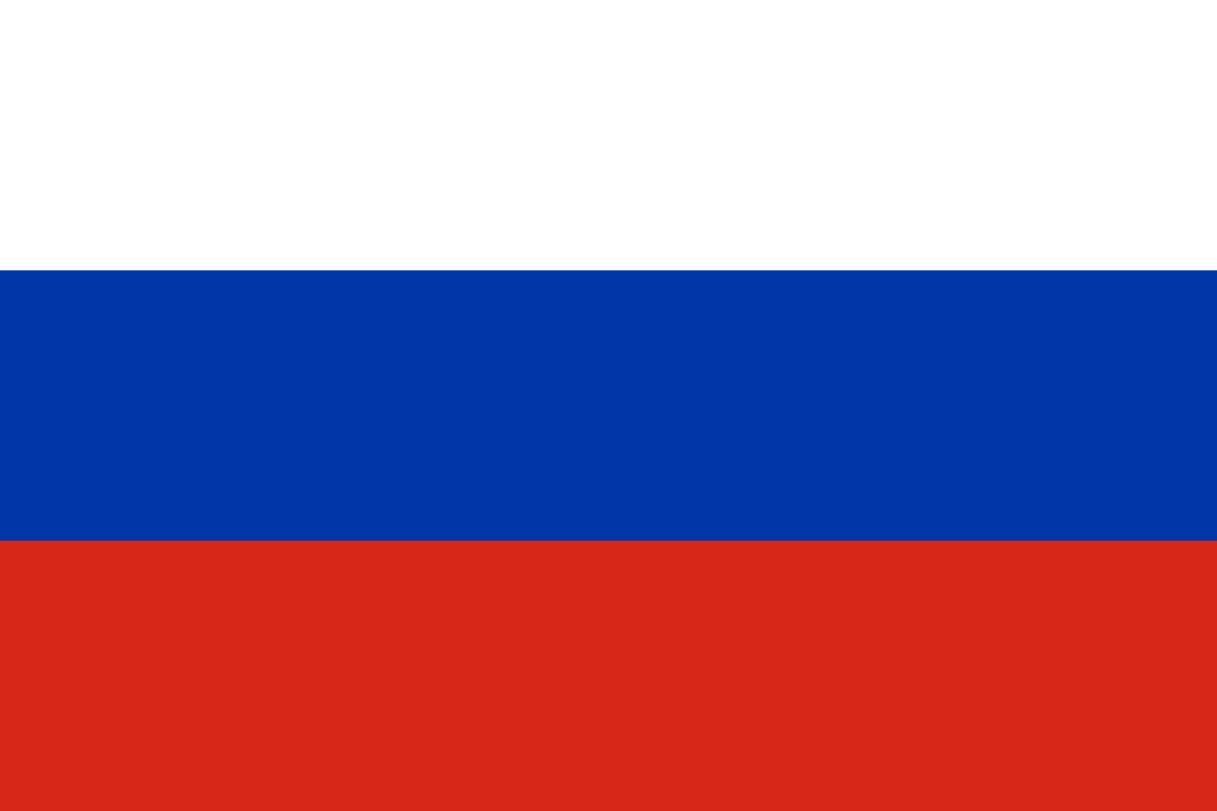 Flagge im Querformat Land Russland 150x100 cm